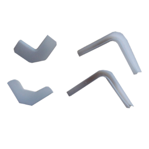 PVC Busbar Accessory Elbow Protection زاوية لقناة Busduct