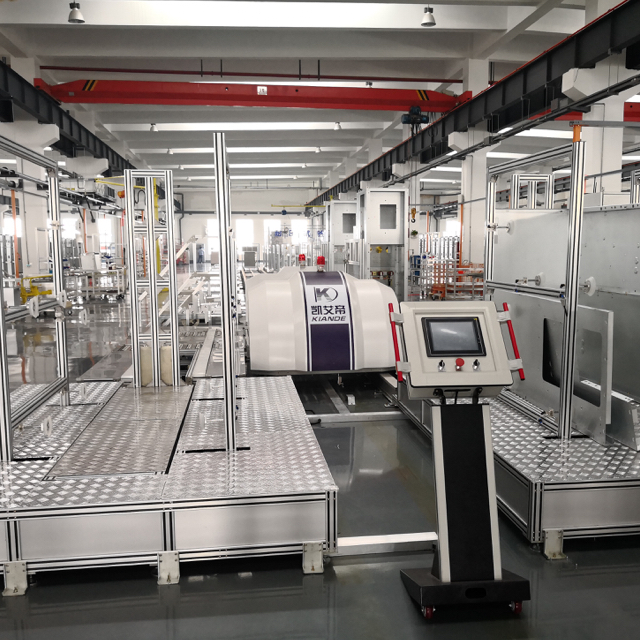 الصين RGV Trolley PLC Control MV Switchgear Cabinet Assembly Line